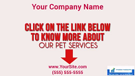 Pets - Pet Walking Service